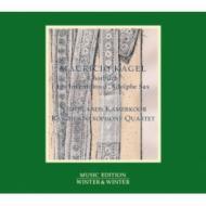 『アドルフ・サックスの発明〜カーゲル、ラスト・レコーディング』 オランダ室内合唱団、ラシェル・サクソフォン四重奏団、他