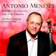 エルガー:チェロ協奏曲、ガル:チェロ協奏曲 メネセス、クルス&ノーザン・シンフォニア