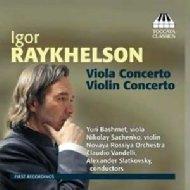 Violin, Viola Concerto: Sachenko(Vn)Bashmet(Va)Slatkovsky / Vandelli / Novaya Rossiya O