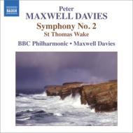 交響曲第2番、『聖トーマスよ、目覚めよ』 マクスウェル・デイヴィス&BBCフィル