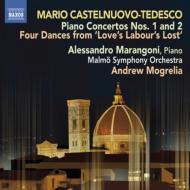 ピアノ協奏曲第1番、第2番、4つの舞曲 マランゴーニ、モグレリア&マルメ響
