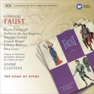 『ファウスト』全曲 クリュイタンス&パリ・オペラ座、クリストフ、ゲッダ、他(1958 ステレオ)(3CD)