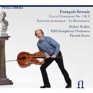 チェロ協奏曲、チェロと管弦楽のための作品集 ポスカン、ダヴァン&KBS響