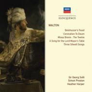 Belshazzar's Feast, Choral Works, Songs : Solti / London Philharmonic & Choir, Luxon, Preston / etc (2CD)
