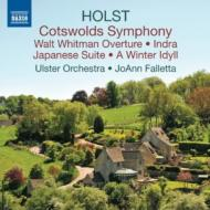 コッツウォルド交響曲、日本組曲、交響詩『インドラ』、他 ファレッタ&アルスター管弦楽団