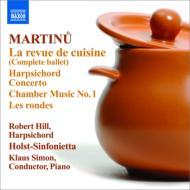 『調理場のレビュー』完全版、チェンバロ協奏曲、ロンド、室内音楽第1番 シモン&ホルスト・シンフォニエッタ、R.ヒル