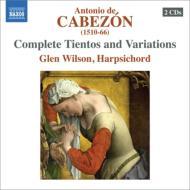ティエントと変奏曲全集 グレン・ウィルソン(2CD)