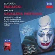 レオンカヴァッロ:『道化師』、マスカーニ:『カヴァレリア・ルスティカーナ』 プレートル&スカラ座、ドミンゴ、他(1981 ステレオ)(2CD)