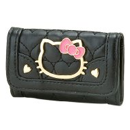 Hello Kitty Key Case  (Heart)Black