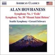 交響曲第1番『追放』、第50番『セント・へレンズ山』、日本の木版画による幻想曲 シュウォーツ&シアトル響
