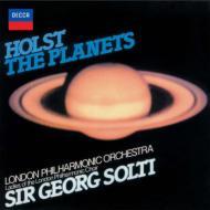 ホルスト:組曲『惑星』、エルガー:『威風堂々』全5曲 ショルティ&ロンドン・フィル