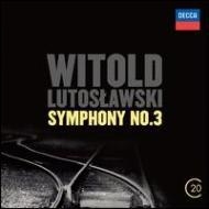交響曲第3番(ルトフワフスキ&ベルリン・フィル)、管弦楽のための協奏曲(ロヴィツキ&ワルシャワ・フィル)、織りこめられた言葉(ピアーズ)