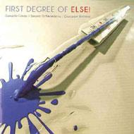 First Degree Of Else