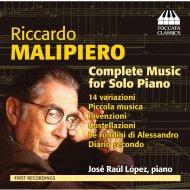 Comp.piano Solo Works: Jose Raul Lopez