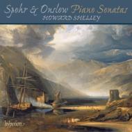 シュポア:ピアノ・ソナタ、ロンドレット、オンスロウ:ピアノ・ソナタ、トッカータ、6つの小品 シェリー