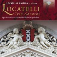 ロカテッリ(1695-1764)/Edition Vol.1-trio Sonatas: Ruhadze(Vn) Ensemble Violini Capricciosi