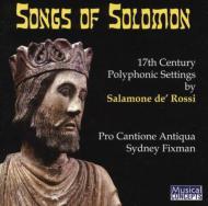 Songs Of Solomon: Fixman / Pro Cantione Antiqua