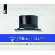 Pour Une Larme-songs, Piano Works: M.matheu(S)Mcclure(P)