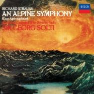 R.シュトラウス:アルプス交響曲、シェーンベルク:管弦楽のための変奏曲 ゲオルグ・ショルティ&バイエルン放送交響楽団、シカゴ交響楽団