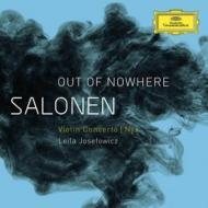 ヴァイオリン協奏曲、『Nyx』 ジョゼフォヴィッツ、サロネン&フィンランド放送響