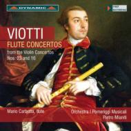 ヴァイオリン協奏曲第16番、第23番(フルート版) カボッタ、ミアニーティ&ポメリッジ・ムジカーリ管
