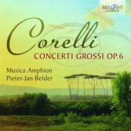 コレッリ(1653-1713)/Concerti Grossi Op 6 : Belder / Musica Amphion