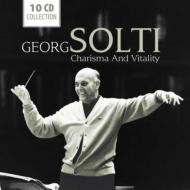 Georg Solti : Charisma and Vitality (10CD)
