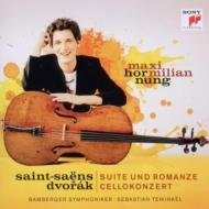 Dvorak Cello Concerto, Saint-Saens Suite, Romance : Hornung(Vc)Tewinkel / Bamberg Symphony Orchestra