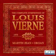 Comp.organ Symphonies: Martin Jean