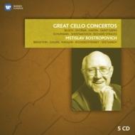 チェロ協奏曲集 ロストロポーヴィチ(5CD)