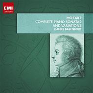 モーツァルト(1756-1791)/Comp. piano Sonatas Variations: Barenboim (Ltd)