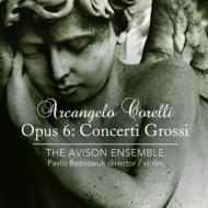 合奏協奏曲Op.6 パヴロ・ベズノシウク、エイヴィソン・アンサンブル