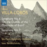 交響曲第6番『ブラジルの山並みについて』、第7番 カラブチェフスキー&サンパウロ交響楽団