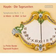 ハイドン(1732-1809)/Sym 6 7 8 : S.kuijken / La Petite Bande