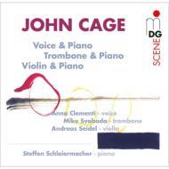 声、トロンボーン、ヴァイオリンとピアノのための作品集 シュライヤーマッハー、A.クレメンティ、M.スヴォボダ、ザイデル(3CD)