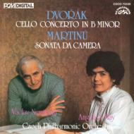 ドヴォルザーク:チェロ協奏曲、マルチヌー:ソナタ・ダ・カメラ アンゲリカ・マイ、ノイマン&チェコ・フィル