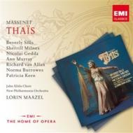 『タイス』全曲 マゼール&ニュー・フィルハーモニア管、シルズ、ゲッダ、ミルンズ、他(1976 ステレオ)(2CD)