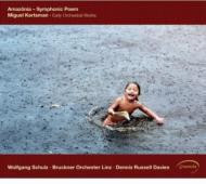 Amazonia-early Orch.works: D.r.davies / Linz Bruckner O W.schulz(Fl)