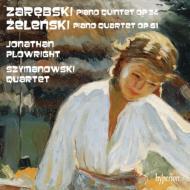 ザレンプスキ:ピアノ五重奏曲、ジェレンスキ:ピアノ四重奏曲 J.プロウライト、シマノフスキ四重奏団