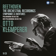 Complete Symphonies, Overtures : Klemperer / Philharmonia, New Philharmonia (10CD)