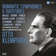 Romantic Symphonies & Overtures : Klemperer / Philharmonia, New Philharmonia (10CD) (Limited) / Classical Collection (Orchestral Music)