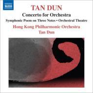 管弦楽のための協奏曲、3つの音符の交響詩、オーケストラル・シアター タン・ドゥン&香港フィル