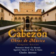 『オブラス・デ・ムジカ』全集 アストロニオ&ハルモニチェス・ムンディ、ラ・モランダ、他(7CD)