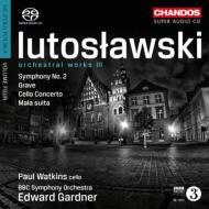 交響曲第2番、チェロ協奏曲、他 ガードナー&BBC交響楽団、ワトキンス