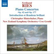 ピアノ協奏曲第2番、第9番、序奏と華麗なロンド ヒンターフーバー、グロッド&ニュージーランド響