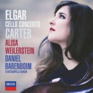 Cello Concerto: Weilerstein(Vc)Barenboim / Skb +e.carter