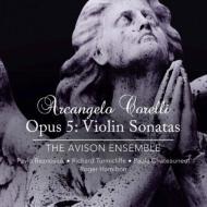 ヴァイオリン・ソナタ集作品5 パヴロ・ベズノシウク&エイヴィソン・アンサンブル(2SACD)