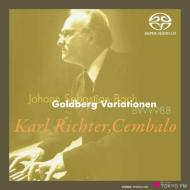 ゴルトベルク変奏曲 リヒター(1979年東京ライヴ)(シングルレイヤー)
