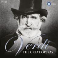ザ・グレート・オペラズ〜主要オペラ全曲集 ムーティ、カラヤン、ジュリーニ、メータ、レヴァイン、パッパーノ、セラフィン、サンティーニ(35CD)