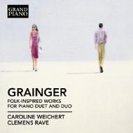 Folk-inspired Works For Piano Duet & Duo: Weichert C.rave